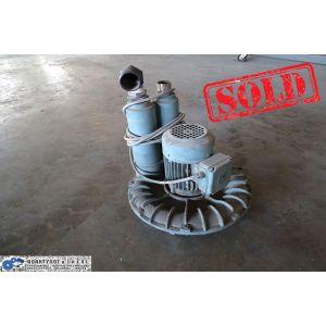 Φυσητήρας τύπος: SU 101 , 2800rpm , 100m3/h , 160mbar