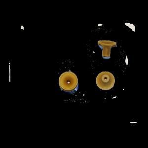 Βεντούζα σιλικόνης καφέ
