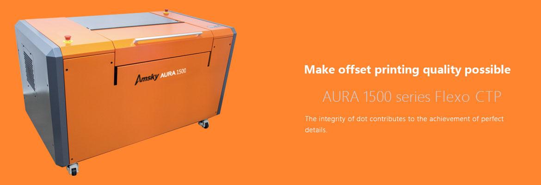 AURA 1500 series Flexo CTP
