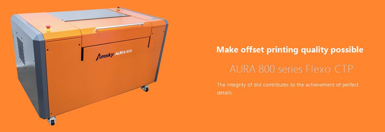AURA 800 series Flexo CTP